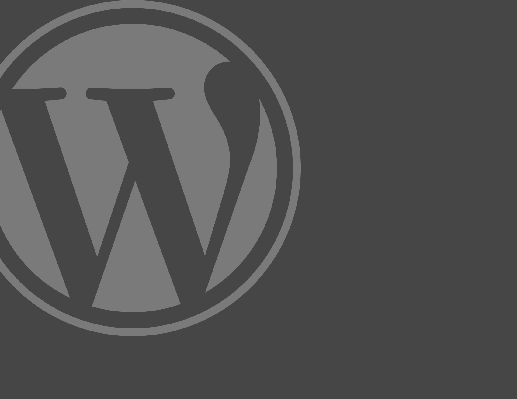 #1 Éléments de base du backend de WordPress