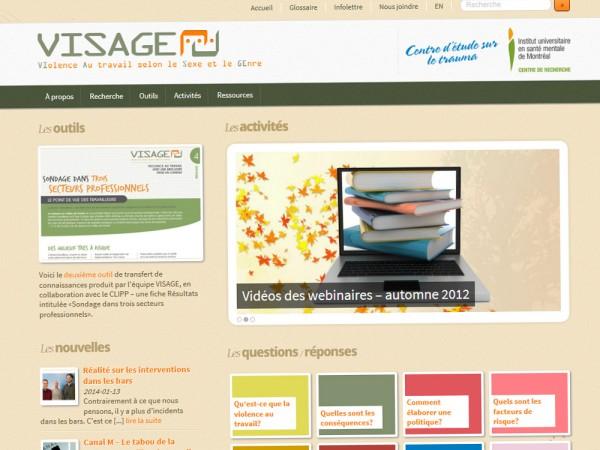Site web de Équipe VISAGE
