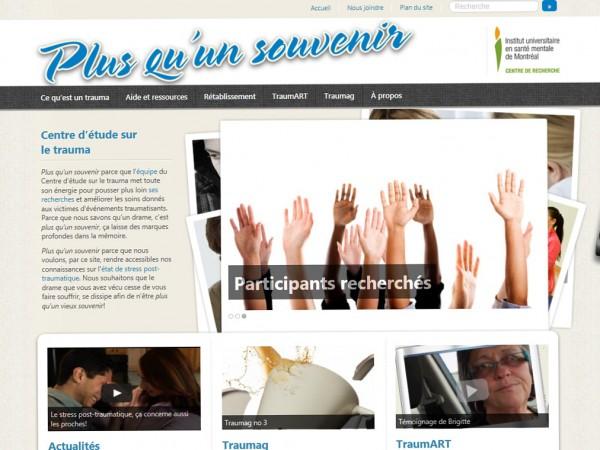 Site web - Plus qu'un souvenir